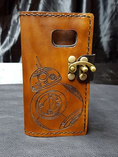 BB8 of Star Wars Leather Phone case