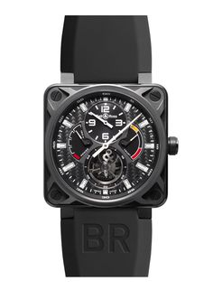 Collection AVIATION BR 01 Tourbillon (46 MM) - Bell  Ross.  $140,000 Retail.