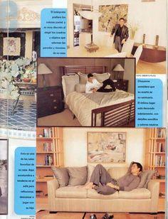HOLA  QUERIDAS  FANS DE NUESTRO ROMANTICO BORICUA CHAYANNE <BR> <BR>A QUI UNA FOTOGRAFIA DE  LA CASA DE NUESTRO AMORSITO...EL ABRIO LAS <BR> <BR>PUERTAS DE SU HOGAR Y MOSTRO ALGUNOS RINCONES . <BR> <BR> <BR>1.-  EL INTERPRETE PREFIERE LOS COLORES PASTEL,Y ES MUY DISCRETO AL ELEGIR LOS CUADROS Y  <BR> <BR>OBJETOS QUE ADORNAN LAS PAREDES Y RINCONES DE SU CASA. <BR> <BR> <BR>2.-   CHAYANNE CONSIDERO  QUE SU CUARTO ES SU  SANTUA