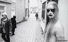 "Kvitrafn - Bergen, from the book ""True Norwegian Black Metal"" (May 2008) by the photographer Peter Beste. Large HQ"