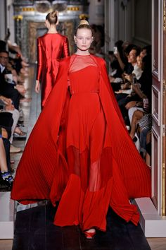 Valentino at Couture Fall 2012 - StyleBistro