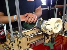 Lots of 3-D Printers at Maker Faire 2012!