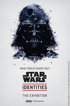 New Star Wars Identities Portraits are Awesome! - Star Wars Poster - Ideas of Star Wars Poster - - Star Wars Identities Darth Vader Amanda Monday (BirdsDream Design)omg they have Yoda too! Japan Design, Web Design, Graphic Design, Design Taxi, Print Design, Graphic Art, Graphic Posters, Art Print, Print Poster