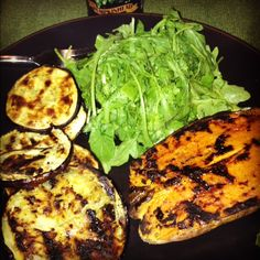 grilled eggplant - easiest recipe ever! easier than boiling water.