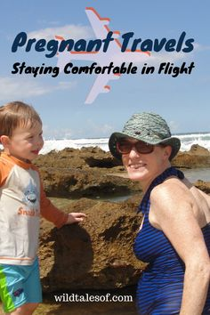 Flying While Pregnant: Ideas on Staying Comfortable in Flight - Packing Travel Tips - Pregnant Tips Flying While Pregnant, Travelling While Pregnant, Traveling With Baby, Travel With Kids, Family Travel, Travel Packing, Travel Tips, Flying With Kids, Airplane Travel