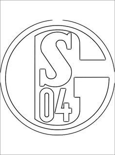 fußball ausmalbilder schalke Printable Coloring, Vinyl Decals, Coloring Pages, Symbols, Letters, Logos, Paw Patrol, Wood Burning, Mandala
