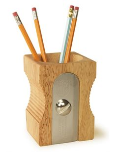 Giant Desk Sharpener Pencil Cup