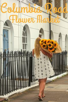 Columbia Road Flower Markets in London. A weekend in London. London Flower Markets