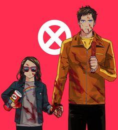 """""""""""X-Men : Laura and David _#"""""""""""""""
