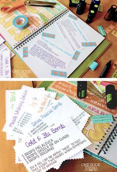 Create an EO Journal – A SMASHing Idea! Complete with EO Recipes to download! (Jillee's Best Laundry Recipes too!) https://www.youngliving.org/praises4yahweh