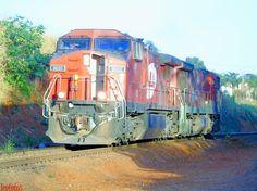 Locomotivas GE DASH - 9 e C 30 -7