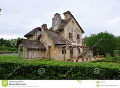 Versailles, Petit Trianon, Le Boudoir Stock Photo - Image: 56190445