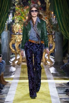 Meet Roberto Cavalli's Edgy Fall Collection via @WhoWhatWear