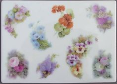 Helen Humes China Painter | Helen Humes Decals