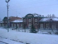 Russia train ride from Izhevsk to Moscow in Winter