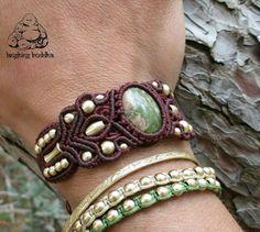 Check out this item in my Etsy shop https://www.etsy.com/listing/277394424/unakite-bracelet-macrame-bracelet