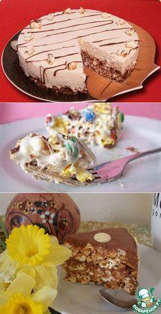 Готовим торт из попкорна   БУДЕТ ВКУСНО!