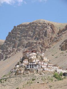 Key monastery, in the Spiti Valley in Himachal Pradesh