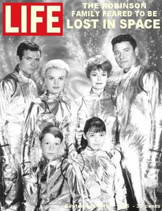 Life magazine, September 1965 — Lost in Space. All of my girlfriends and I gathered at one house to watch this show when it premiered. Don't remember the specifics of why we were so excited, but people in shiny metallic suits and a talking robot apparently did it for us in the way of entertainment :>)