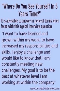 careergoals interviews yourself answer where years time how you see to do in 5 How to answer Where do you see yourself in 5 years timeHow to answer Where do you see yourself in 5 years time Typical Interview Questions, Job Interview Preparation, Interview Questions And Answers, Job Interview Tips, Job Interviews, Management Interview Questions, Interview Dress, Trick Questions, Resume Skills
