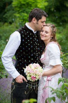 Hochzeitsfotograf Roseninsel, Starnberger See, Trachtenhochzeit