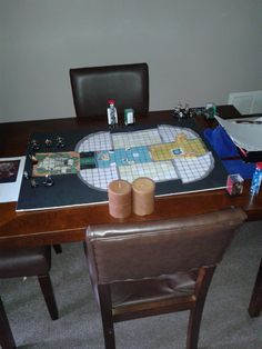 another view of game day table