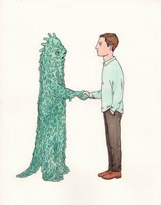 Buddies: Swamp Creature by Andrew Rae