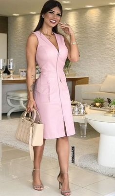 summer womens fashion that looks fab! Posh Dresses, Sexy Dresses, Cute Dresses, Beautiful Dresses, Dress Outfits, Casual Dresses, Fashion Dresses, Dresses For Work, Summer Dresses
