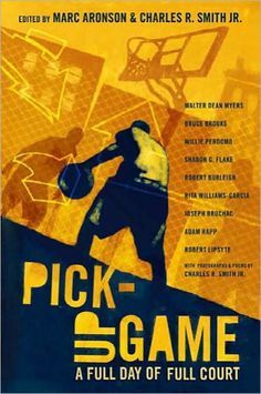 Annotation and podcast for Pick-Up Game. A possible book to pair, compare and contrast with Volponi's The Final Four.