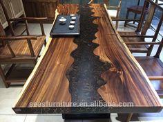 Good Quality wood slab desk manufacturer