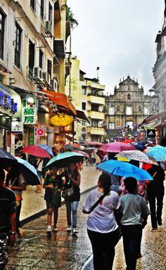 The Magic of Macau Waves Goodbye, Work Visa, Macau, Street View, Travel, Viajes, Destinations, Traveling, Trips