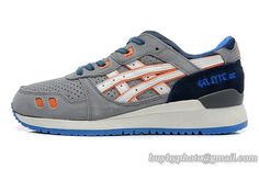 Men's Asics Gel Lyte III Sneaker Gray|only US$95.00 - follow me to pick up couopons.
