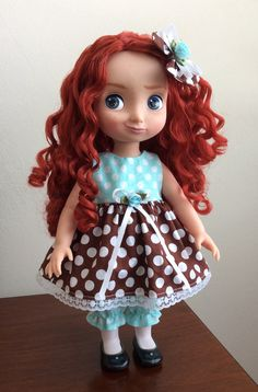 Hey, I found this really awesome Etsy listing at https://www.etsy.com/listing/281618188/cute-dots-dress-set-for-16-disney
