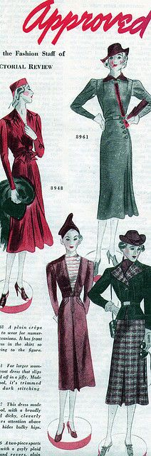 (1930s) I've inherited patterns like this but sadly they're the worse for wear :-(