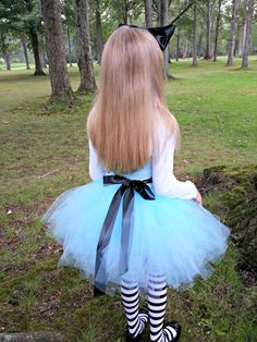 Alice in Wonderland Tutu Dress Costume by TheSweetLittleLemon