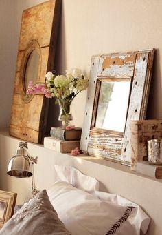 27 Ideas de cómo, dónde y qué estilos utilizar para decorar con espejos | Bohemian and Chic