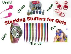 Stocking Stuffers for Girls, Girls Stocking Stuffers