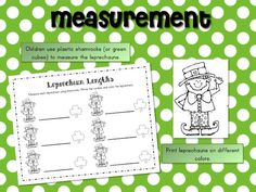 leprechaun lengths measurement activity