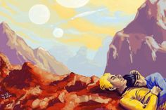 Cuddling on New Vulcan by the-physicist on DeviantArt