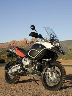 My BMW R1200GS Adventure (not mine, but same style)