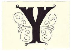 "Thє lєttєr ""Y""~by Mary Kate McDevitt"