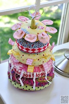 35. #Stackable Plushies - 37 #Fabric Crafts That You'll Love Sew Much ... → DIY #Scraps
