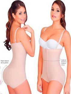 c052e41ac6 Fajas colombianas salome 0414 body panty levanta cola mujer moldeate latin  power