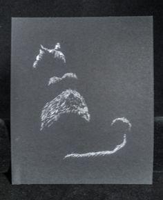 Cat Silhouette Framable Art