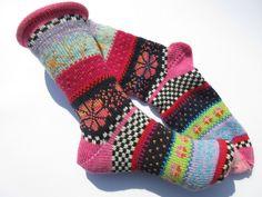 Socken - Socken Gr. 38/39 - ein Designerstück von Lotta_888 bei DaWanda