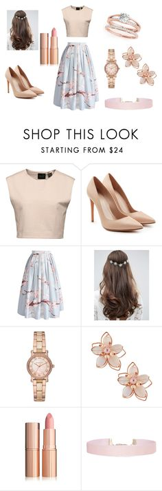 """""""elegancia primaveral"""" by loveheart23 on Polyvore featuring moda, Puma, Alexander McQueen, Chicwish, ASOS, Michael Kors, NAKAMOL y Humble Chic"""