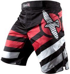 MMA Shorts - Hayabusa Elevate MMA Black Fight Trunks