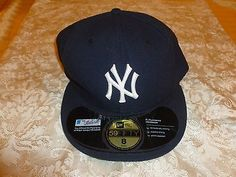 New York Yankees Men's Authentic 59FIFTY official cap Major League Baseball Cap