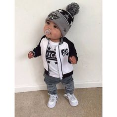 Baby Boy Fashion - A board for adorable baby boy clothes! Cute baby clothes for summer, fall, winter, and spring! Garçonnet Swag, Kid Swag, Baby Boy Fashion, Toddler Fashion, Fashion Kids, Fashion Outfits, Fashion Styles, Fashion Clothes, Fall Fashion