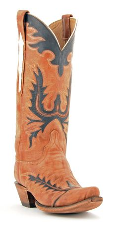 Womens Lucchese Classics Goat Boots Destroyed Pearwood #Gc9775